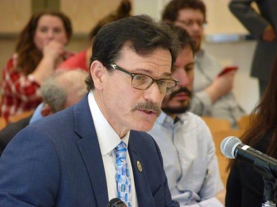 Sayreville Police Chief John Zebrowski testifying on