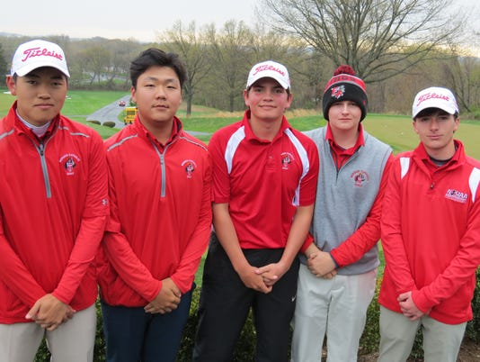 Bergen Catholic 2018 golf team