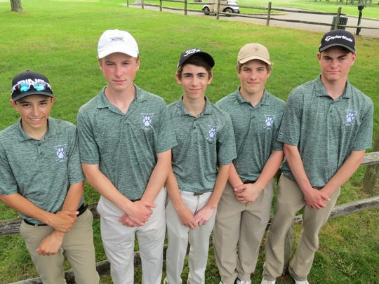 Midland Park returns almost its entire lineup from last year's NJSIAA Group 1 title team, including (from left) Mikey Folignani, Joe Furlong, Matt Diani, and Sean Furlong.