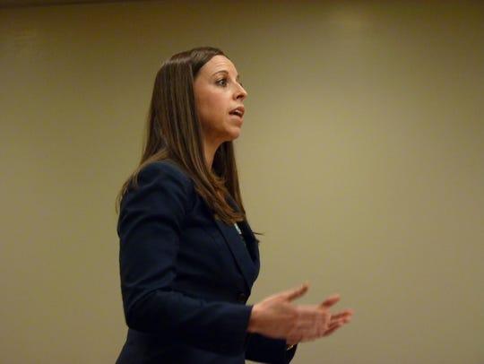 Middlesex County Assistant Prosecutor Allysa Gambarella