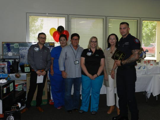 Carlsbad Medical Center hosted EMS Awards on May 17