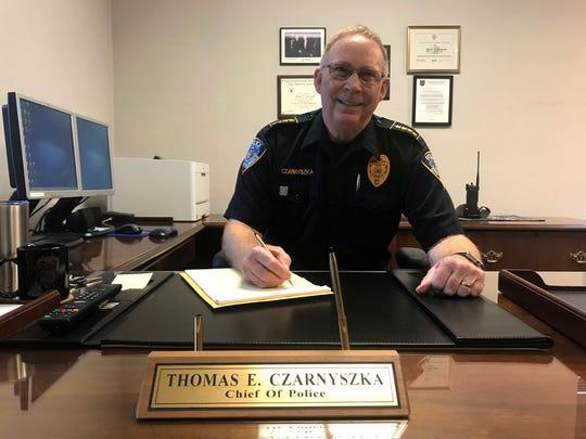 Glendale Police Chief Thomas Czarnyszka is retiring