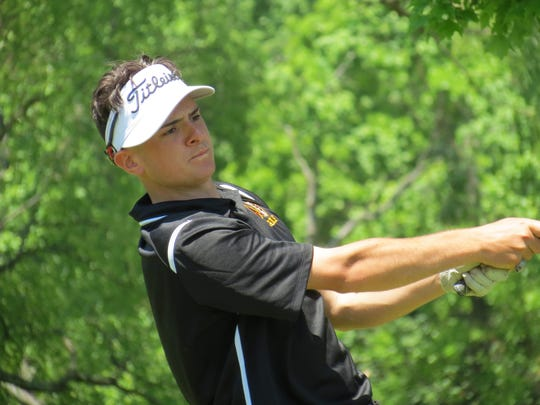 Senior Robert McHugh won the individual title and led Wayne Hills to the team title at the Passaic County Golf Championship at Preakness Valley Golf Course in Wayne on Thursday, May 24.