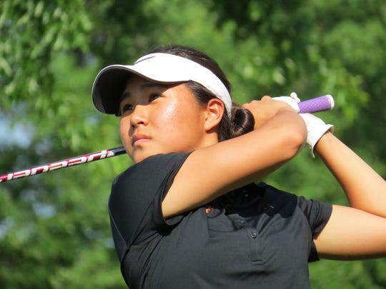 Fort Lee senior Sun Hwang should again be among the top girls in New Jersey golf this season.