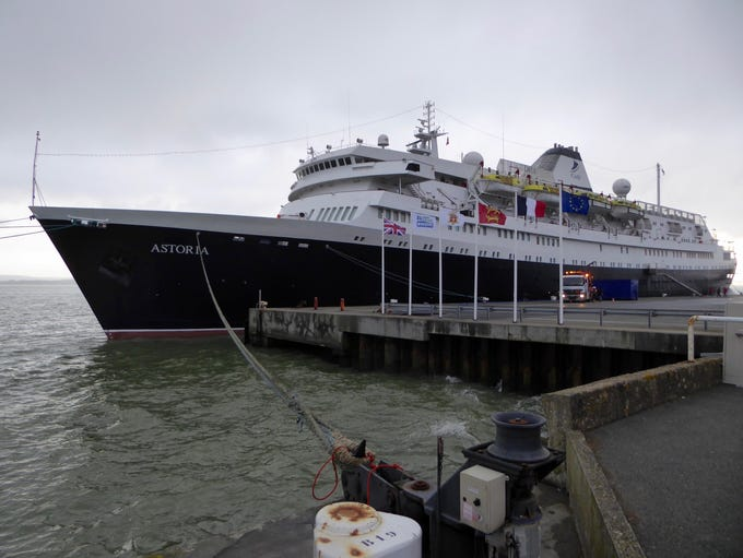 The world's second oldest sea-going cruise ship (after