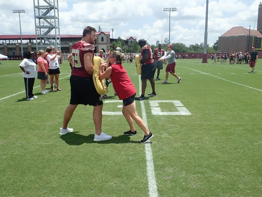 The 2018 FSU Women's Clinic attracted more than 300