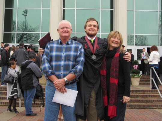 """""""My greatest memory of my dad was him seeing me graduate"""