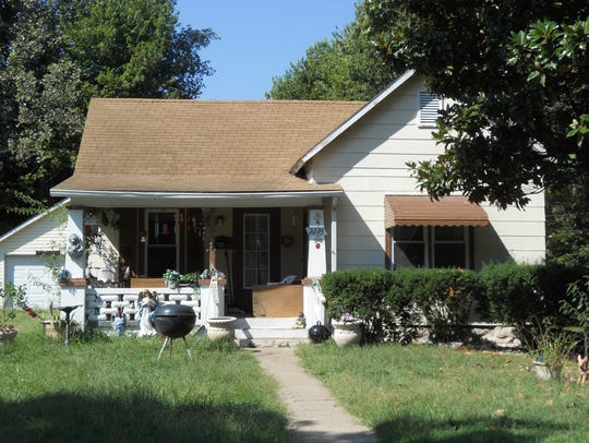 """This is a """"before"""" photo of a house in Woodland Heights"""