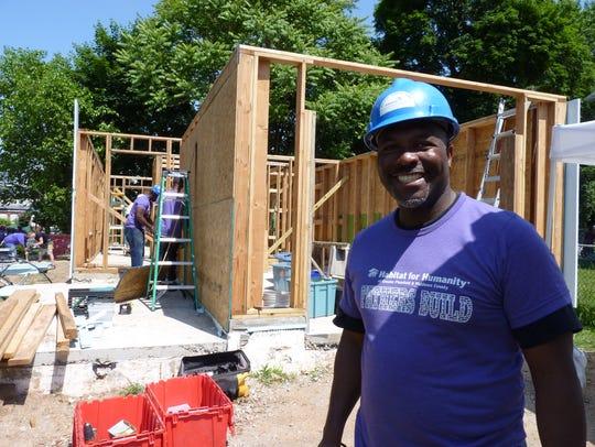 Eugene Mitchell, of North Plainfield, volunteered to
