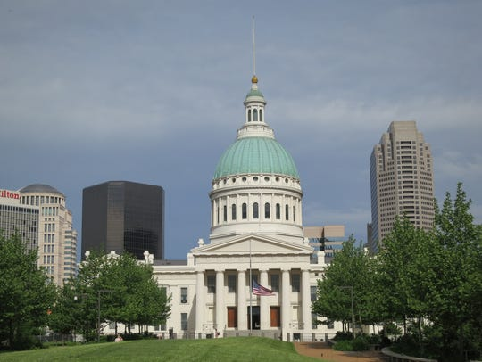 The Old Courthouse in St. Louis is where Dred and Hariet