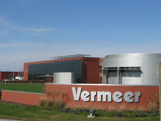 Vermeer Corporation in Pella has housed its own Global Pavilion for employee continuing education for around 25 years.