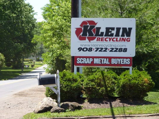 Klein Recycling in Hillsborough.