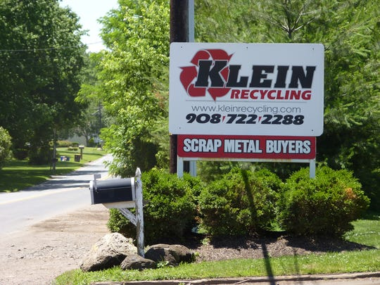 Klein Recycling in Hillsborough.