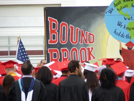 Bound Brook High School held graduation exercises for