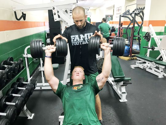 Florida A&M director of strength and conditioning,