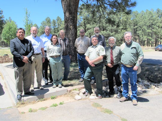 Some of the signers of the North Sacramento Mountains