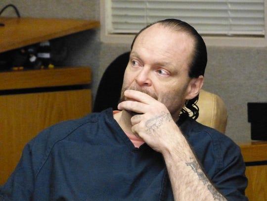 Anthony Baxter listens to Superior Court Judge Adam