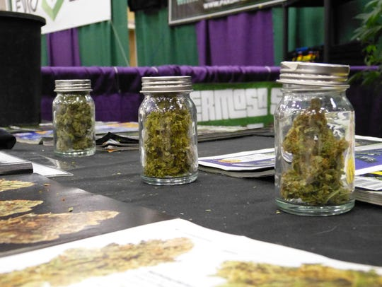 Vendors from Hermosa Seeds were at Saturday's THC Fair