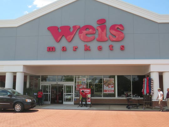 The new Weis Market grocery store opened July 18, 2018 in the space of a former A&P store.