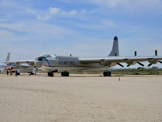 The B-36 bomber was called the Peacemaker perhaps because