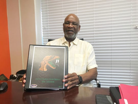 As a former Rattler football star, Dr. Eason is excited