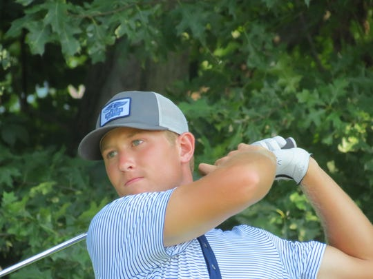 Collegian Christian Cavaliere was runner-up at the 116th Met Amateur golf championship at Arcola Country Club on Sunday, August 5.