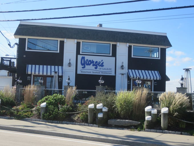 George's of Galilee is a very popular local institution