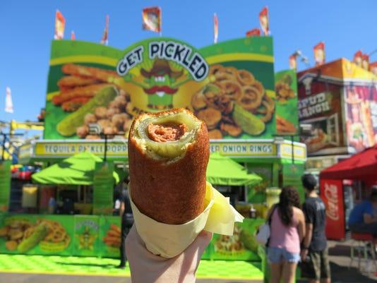 Pickle dog (Pickle-o-Pete's):