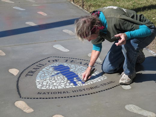 Trail of Tears footprints offer connection to history