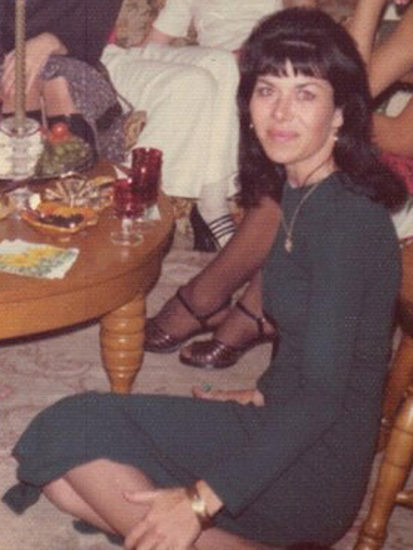 A late 1970s photograph of Alexandra Christiansen