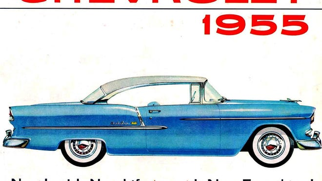 The 1955 Chevrolet was the first year of the 265-cubic inch overhead valve V8, which turned into the most popular V8 engine ever built and still exists to this day in modern form.