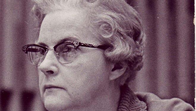 Lucile Belen. Former Lansing City Councilwoman.
