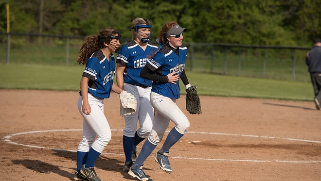 Crestline softball won the sectional crown and face a stiff-test against top-seed Lucas in the district tournament.