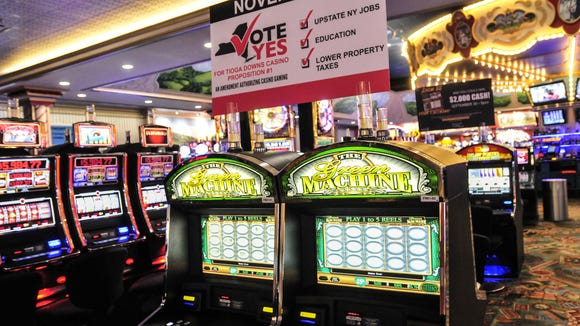 Tioga Downs had a net win in September of $4.3 million,
