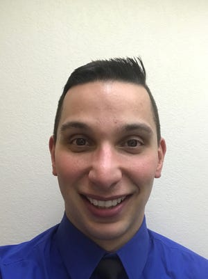 Dimitrios Gliarmis, 30, is running for an open seat on the Sioux Falls School Board in the June 6 election.
