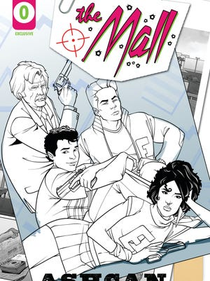 Set in Fort Myers, comic book creator James Haick is handing out a 9-page preview on Saturday.