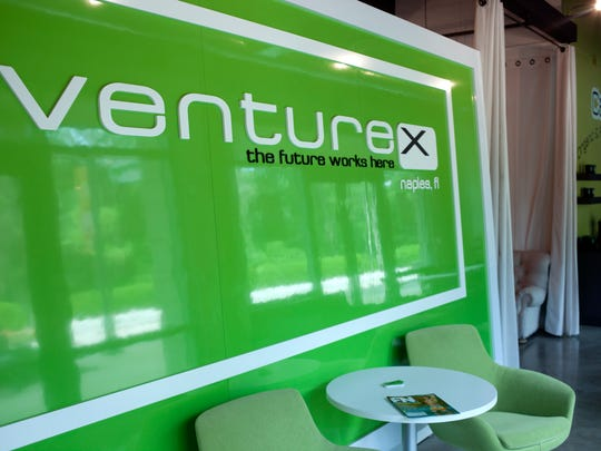 Venture X, at the Mercato, rents furnished office space, workstations and meeting rooms to startup companies in Naples.