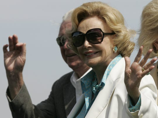 Barbara Sinatra at the El Dorado Polo Club in Indio