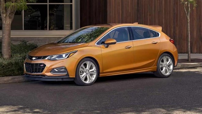 Consumer Reports' 2017 Annual Top Picks list said the redesigned Chevy Cruze earned top remarks in the highly competitive compact car category, beating out the Honda Civic and Toyota Corolla.