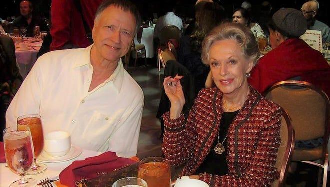 Don Martin and Tippi Hedren.