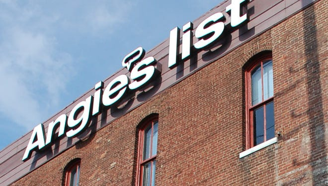 Angie's List is headquartered east of Downtown Indianapolis.