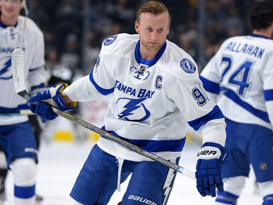 USP NHL: TAMPA BAY LIGHTNING AT LOS ANGELES KINGS S HKN USA CA
