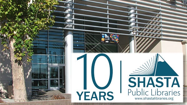 10-year anniversary of the Redding Library