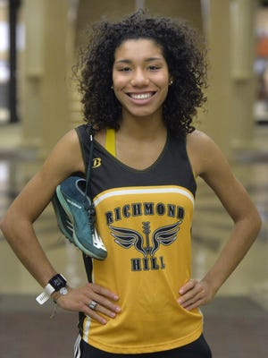 Kayla Gholar of Richmond Hill was the Savannah Morning News' Girls Cross Country Runner of the Year for the fall 2019 season.