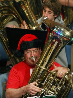 The 2015 Tuba Christmas Concert at 11 a.m. and 12:30 p.m  Tuesday at First Baptist Church on Seventh and Broadway.