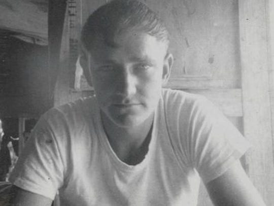 Thomas Belue served more than 20 years in the U.S.