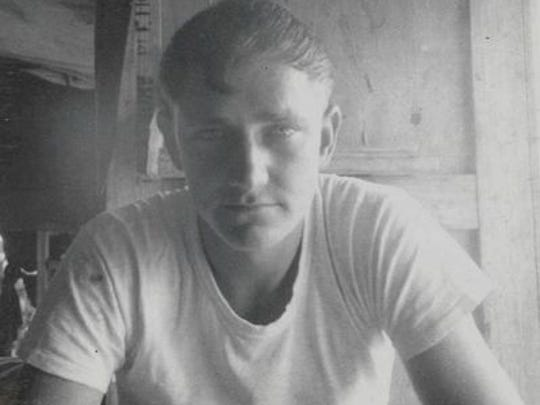 Thomas Belue served more than 20 years in the U.S. Army, rising to Sergeant First Class. This photo captures Belue in his time with the 604th Transporation Company in Pleiku, Vietnam.