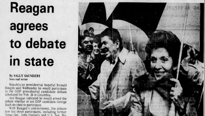 A newspaper clipping from the January 31, 1980 edition of The Greenville News.