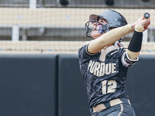 In her first season at Purdue following a transfer