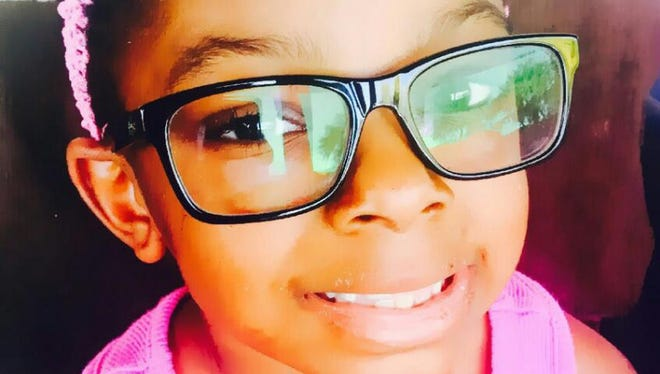 Sanaa Cunningham, 7, died Feb. 12, 2017. Her father and stepmother have been charged with murder in connection with her death.